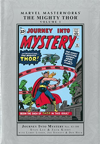 Stan Lee Marvel Masterworks The Mighty Thor Volume 1