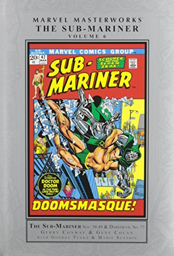 Gerry Conway Marvel Masterworks The Sub Mariner Volume 6