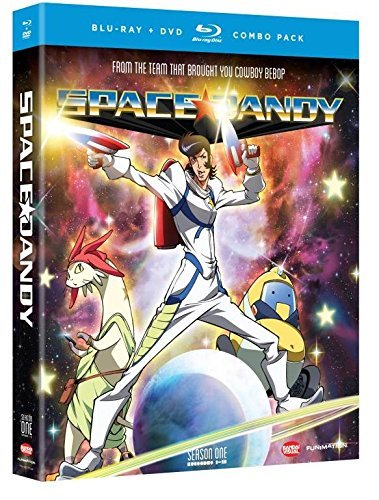 Space Dandy Season 1 Blu Ray DVD