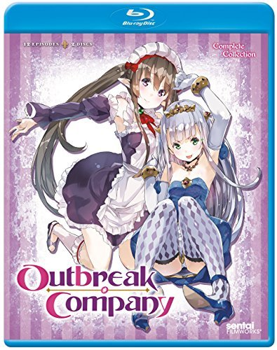 Outbreak Company Complete Collection Blu Ray