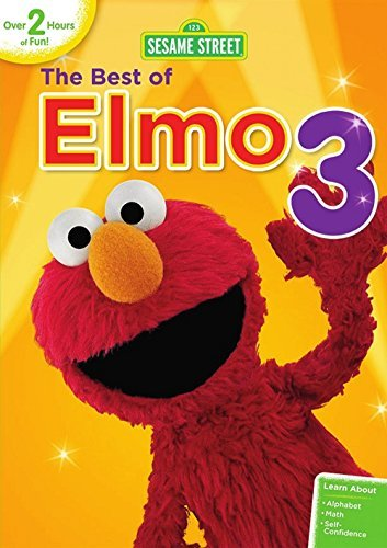 Sesame Street Best Of Elmo 3 DVD