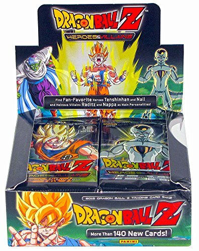 Dragon Ball Z Cards Heroes & Villains Booster Pack