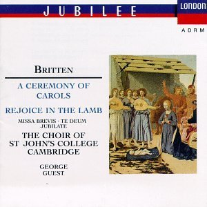 B. Britten Ceremony Of Carols Rejoice In