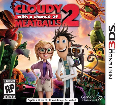 Nintendo 3ds Cloudy Chance Meatballs 2 Cokem International Ltd. E