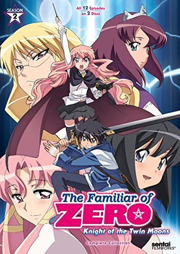 Familiar Of Zero Season 2 DVD