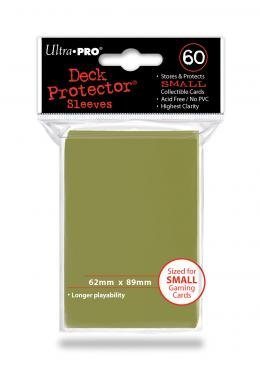Card Sleeves Metallic Gold Card Sleeves 50ct Pack Small Size