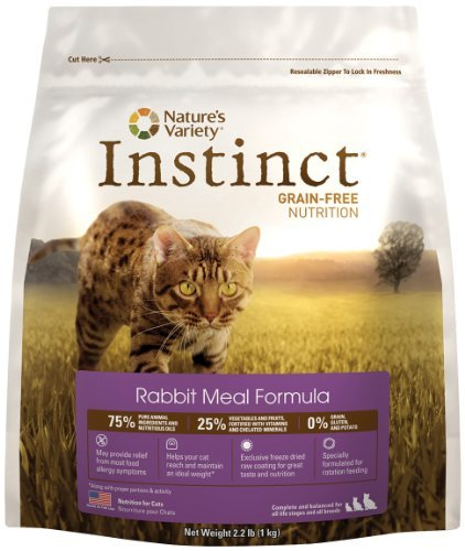 Nature's Variety Instinct Cat Rabbit 5.5lb Qb 4