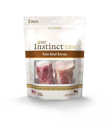 Nav Raw Bone Lamb 2pk Nature's Variety Instinct Raw Frozen Lamb Bones 2 Pack