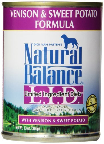 Natural Balance Lid Venison And Sweet Potato 13oz