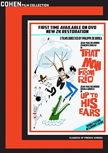 That Man From Rio Up To His Ears Double Feature DVD