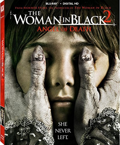 Woman In Black 2 Angel Of Death Mccrory Irvine Fox Blu Ray Dc Pg13