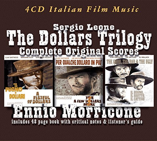 Ennio Morricone Complete Dollars Trilogy Import Eu 4 CD