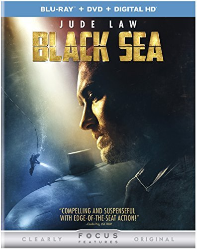 Black Sea Law Mcnairy Mendelsohn Blu Ray DVD Dc