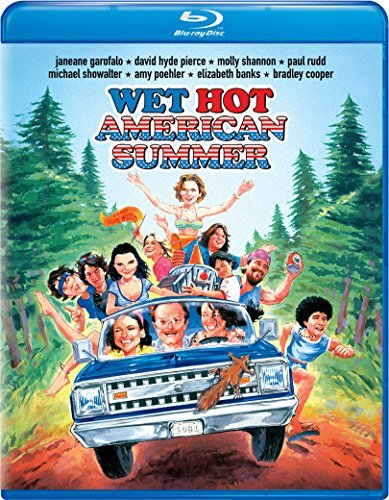Wet Hot American Summer Garofalo Hyde Pierce Shannon Rudd Showalter Blu Ray R