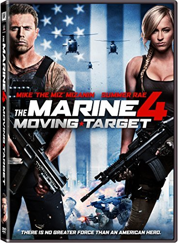 Marine 4 Moving Target Mcgillion Mizanin Roxburgh Rae DVD R