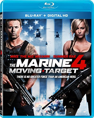 Marine 4 Moving Target Mcgillion Mizanin Roxburgh Rae Blu Ray R
