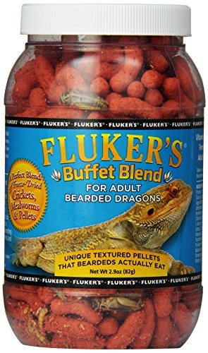 Spor Flukers Adlt Beard Buffet Fluker`s Bearded Dragon Buffet Blend Adult Food 1.5oz