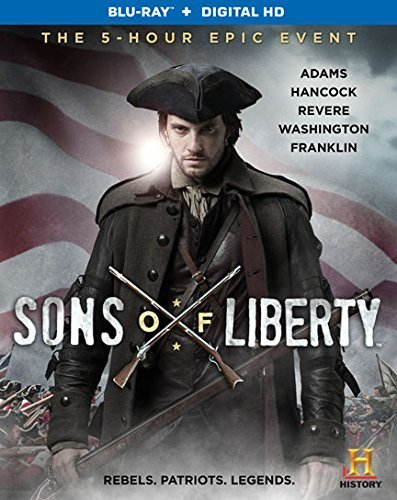 Sons Of Liberty Thomas Barnes Eggold Csokas Blu Ray