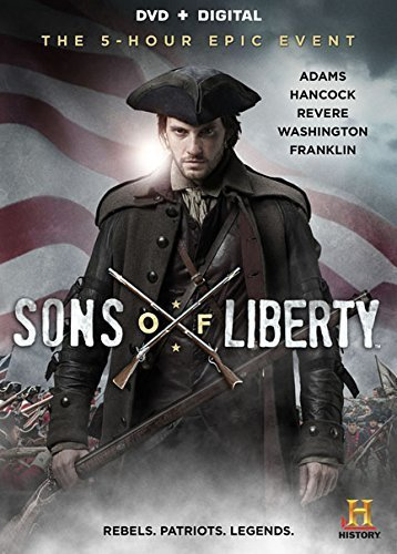 Sons Of Liberty Thomas Barnes Eggold Csokas DVD
