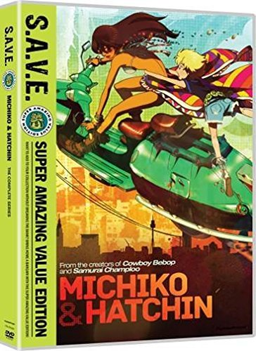 Michiko & Hatchin Complete Series DVD