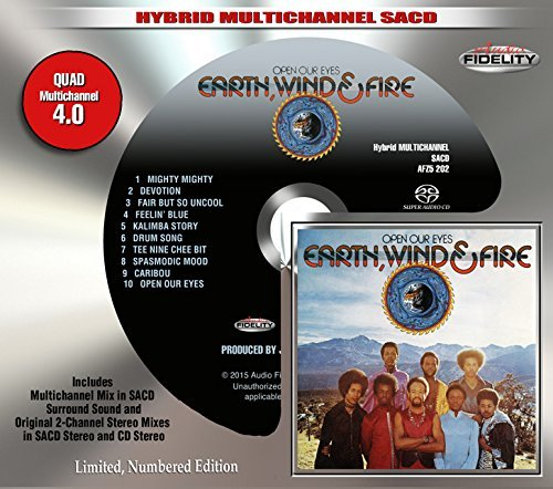 Earth Wind & Fire Open Our Eyes