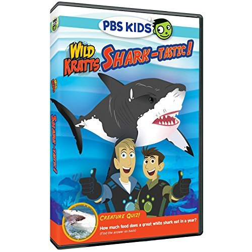 Wild Kratts Shark Tastic! DVD
