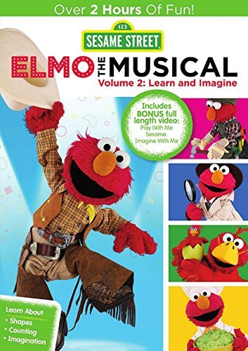 Sesame Street Elmo The Musical 2 DVD