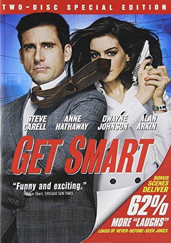 Get Smart Carell Johnson Hathaway Arkin Ws Pg13 2 DVD