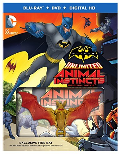 Batman Unlimited Animal Instincts Blu Ray DVD Dc Toy