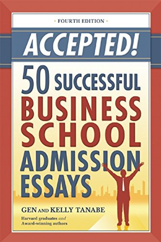 Gen Tanabe Accepted! 50 Successful Business School Admission