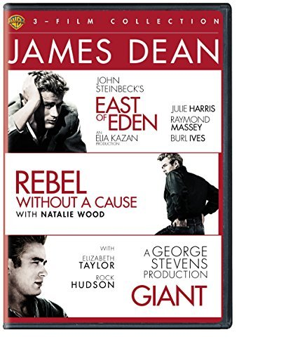 James Dean Triple Feature East Of Eden Rebel Without A Cause Giant DVD
