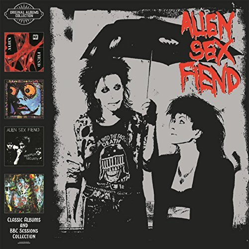Alien Sex Fiend Classic Albums & Bbc Sessions 4 CD