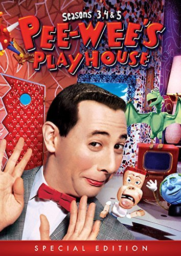 Pee Wee's Playhouse Seasons 3 5 DVD