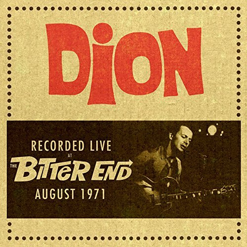 Dion Live At The Bitter End 1971