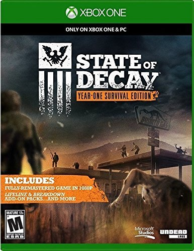Xbox One State Of Decay Year 1 Survival Edition