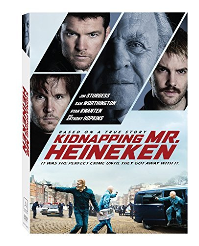 Kidnapping Mr. Heineken Sturgess Worthington Hopkins DVD R