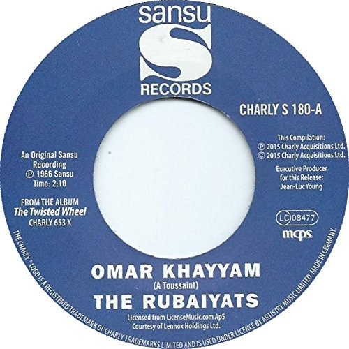 John & The Rubiyats Williams Omar Khayyam Do Me Like You