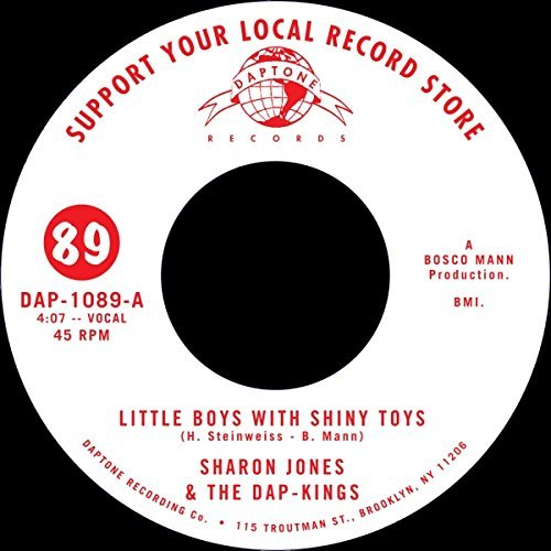 Sharon Dap Kings Jones Little Boys With Shiny Toys Little Boys With Shiny Toys