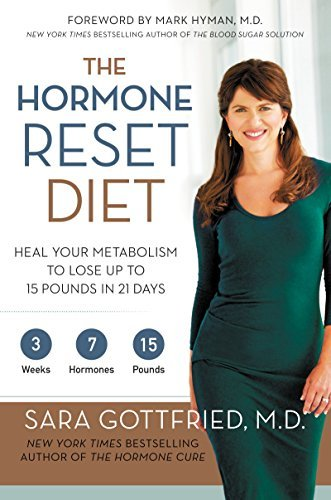 Sara Gottfried The Hormone Reset Diet Heal Your Metabolism To Lose Up To 15 Pounds In 2