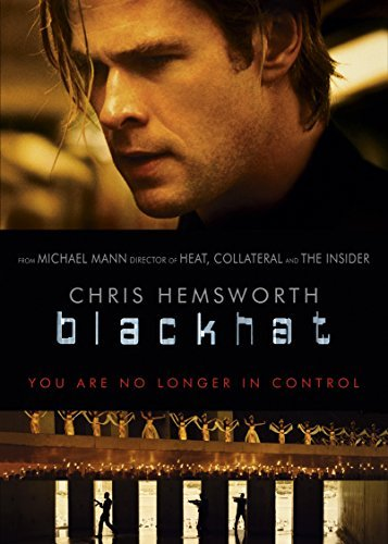 Blackhat Hemsworth Davis DVD R