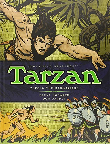 Burne Hogarth Tarzan Versus The Barbarians (vol. 2)