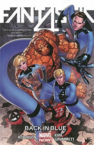 James Robinson Fantastic Four Volume 3 Back In Blue