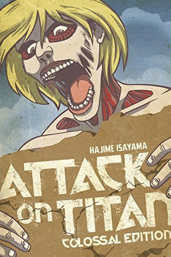 Hajime Isayama Attack On Titan Colossal Edition Volume 2