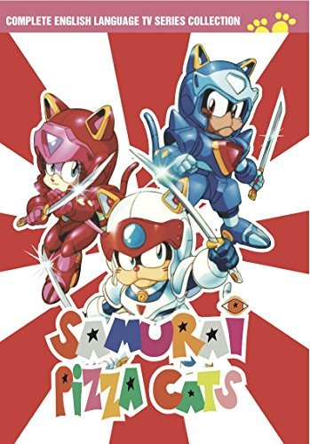 Samurai Pizza Cats DVD Collection Samurai Pizza Cats DVD Collection