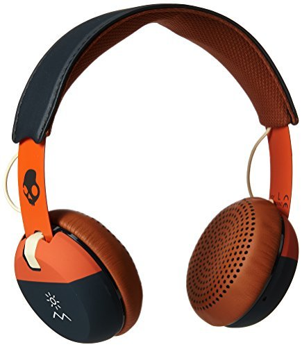 Headphones Grind Explore Orange Navy