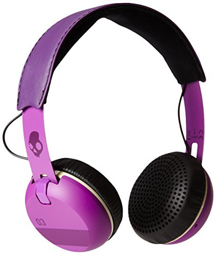 Headphones Grind Ill Famed Purple Black