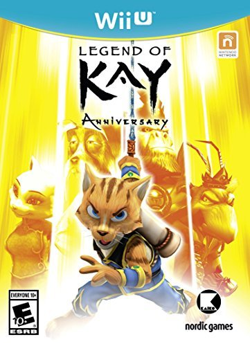 Wii U Legend Of Kay Anniversary