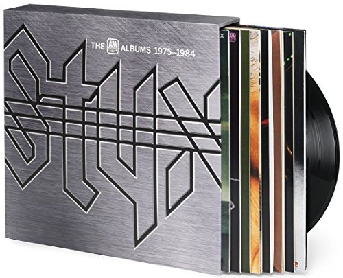 Styx A&m Albums 1975 1984 8 Lp