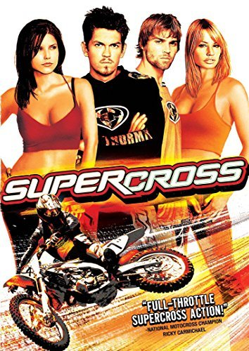 Supercross Howey Vogel Bush Carter DVD Pg13