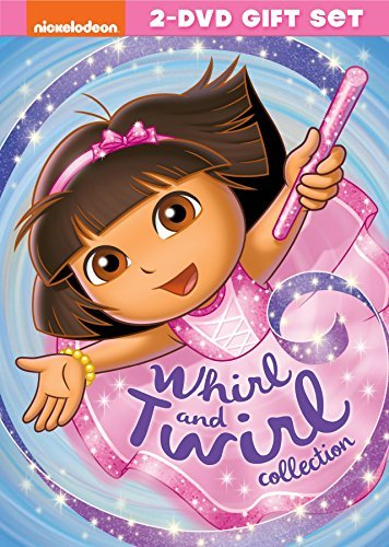 Dora The Explorer Whirl & Twirl Collection DVD